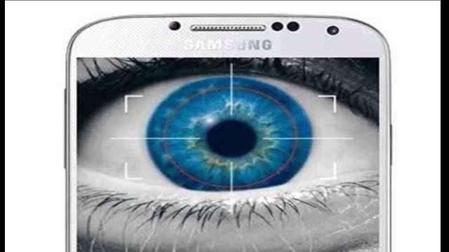 Samsung S5 IRIS Scanner
