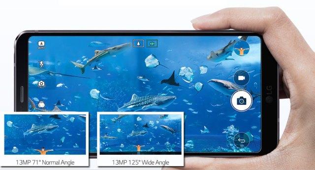 LG G6 camera