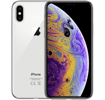 Apple iPhone XS Silver contracts