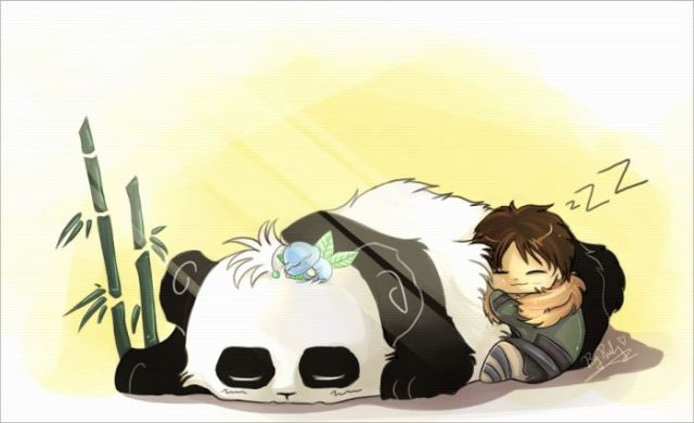 Great Drawings with Pandas (25 pics)