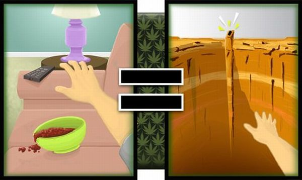 When You're High, Everything Seems Different (10 pics)