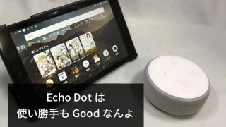 自宅で使えるBluetoothスピーカーはEcho Dotがおすすめ【格安スマートスピーカー】