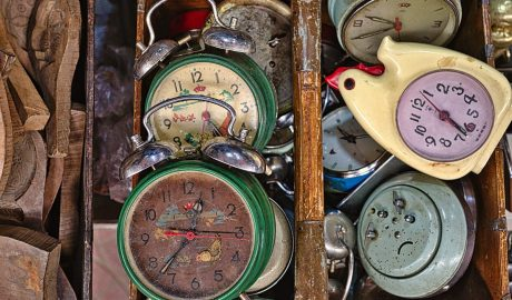In search of the punctual poet...