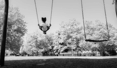 Little Giant Wonder on swing