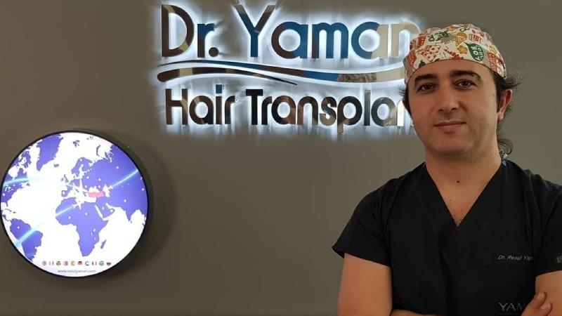 Saç ekiminde Modifiye Mikromotor FUE yöntemi