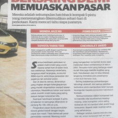 Toyota Yaris Trd Vs Honda Jazz Rs Cicilan Grand New Avanza Perbandingan Hatchback Chevrolet Image