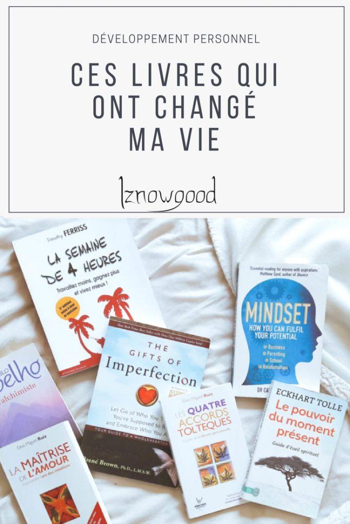 Ont Change De Nom En 22 : change, Livres, Changé, Développement, Personnel, Iznowgood