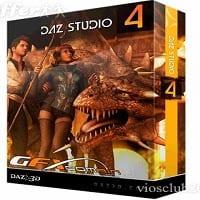 DAZ Studio Pro 4