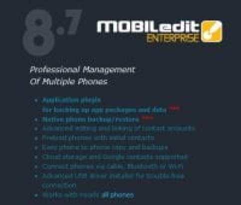 MOBILedit Enterprise 2017