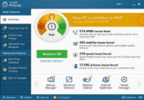 TweakBit PCSuite 10 Full + Crack