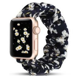 Bracelet Chouchou Apple Watch Marguerite