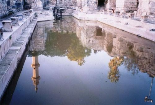 Római fürdő Hamat Gaderban - fotó: Ventura Daniel / Wiki