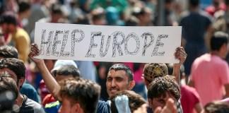 Szíriai menekültek Európában