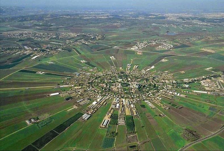 Légi felvétel Náhálálról - fotó: a falu honlapja