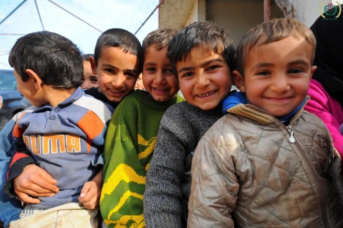 menekült gyerekek
