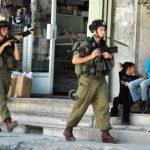 Izraeli katonák Hebronban