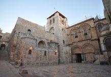 A Szent-sír Bazilika Jeruzsálemben