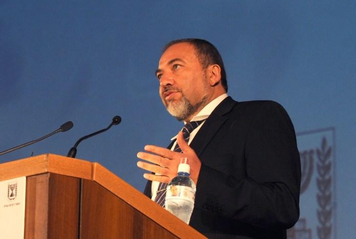 Avigdor Liberman védelmi miniszter - fotó: Moshe Milner / GPO