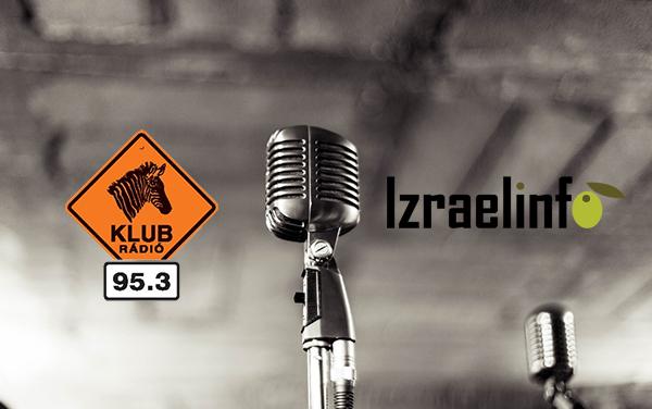 Klubrádió mikrofon Izraelinfo1