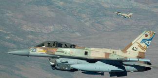 Izraeli F-16-os vadászgép - fotó: wikipedia