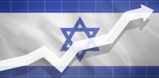 izraeli zaszlo gazdasagi novekedes