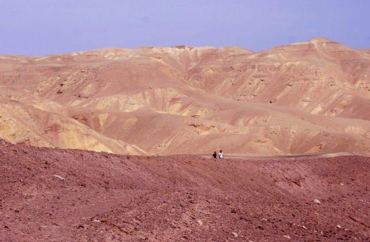 Sivatag Izraelben - fotó: Silló Sándor / Izraelinfo