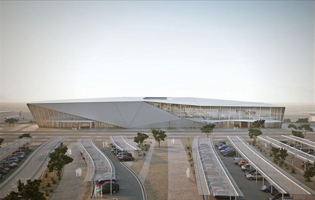 Ramon repülőtér terminálja