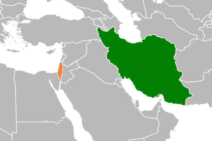 Iran-Izrael terkep