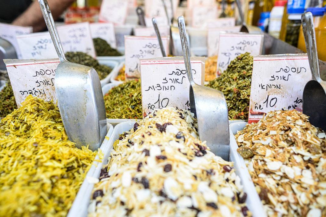 piac fűszerek