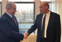 Benjamin Netanjahu és Matanjahu Engelman - fotó: PMO / Twitter