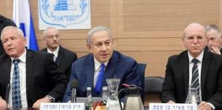 Ben Shabat és Netanjahu a Kneszetben az elmúlt héten - fotó: Amos Ben Gershom / GPO