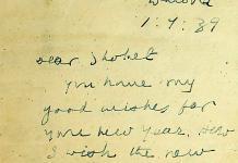 Gandhi 1939-es újévi üdvözlete