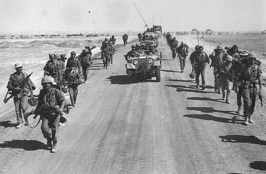 Izraeli katonák a jom kipuri háborúban