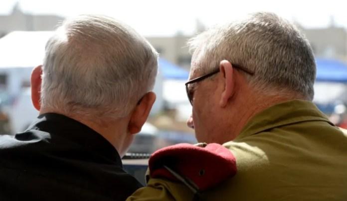 Netanjahu és Ganz 2013-ban - fotó: Amos Ben Gershom / GPO
