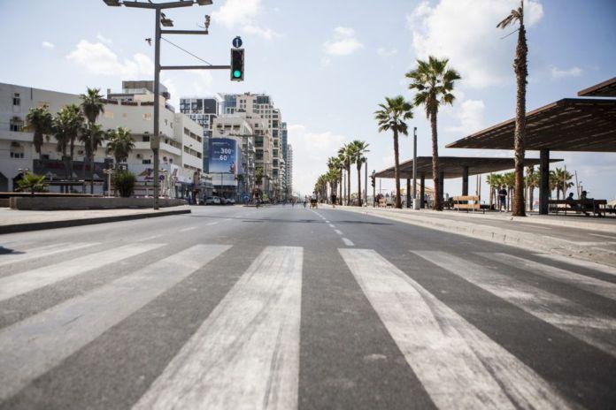utca tel-avivban