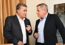 Amir Perec és Nican Horovic - fotó: Merec Twitter-oldala