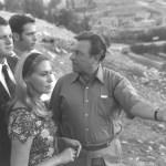 Egy amerikai szenátorral és feleségével, 1971 - fotó: Milner Moshe / GPO