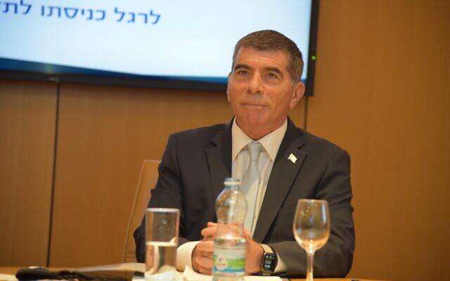 Gabi Askenázi izraeli külügyminiszter - fotó: Külügyminisztérium