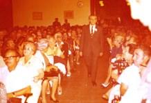 Dr. Arje Kaddar a Herzl-díj átadásán 1975-ben