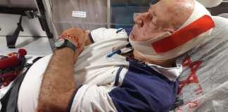 A sok sérült tüntető közül az egyik: 81 éves férfi