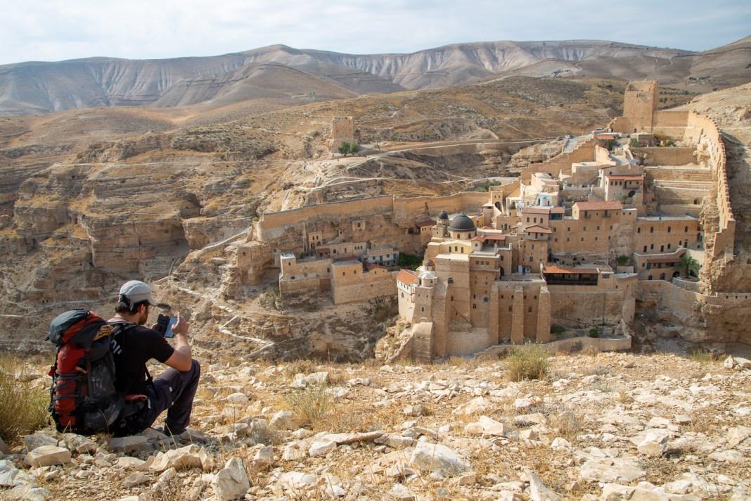 Mar Szaba kolostor a Júdeai-sivatagban - fotó: frankpeti / Izraelinfo