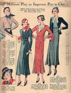 moda 1933