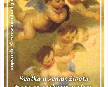 """Poruke Anđela: """"Svatko u svome životu traga za osobnom srećom. Anđeli će ti pokazati kako sreću podijeliti s drugima!"""""""