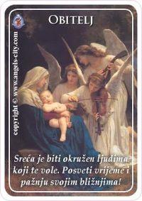 Poruke anđela, Obitelj