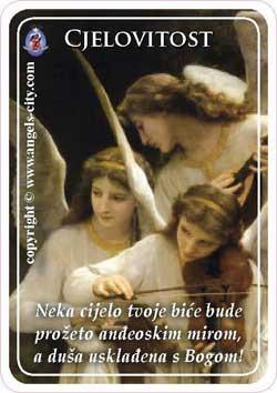 """Poruke Anđela: """"Neka cijelo tvoje biće bude prožeto anđeoskim mirom, a duša usklađena s Bogom!"""""""
