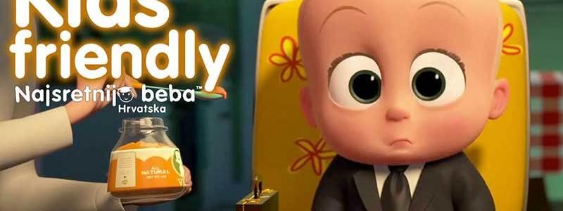 KIDS FRIENDLY: MALI ŠEF, animirana komedija, 98 min