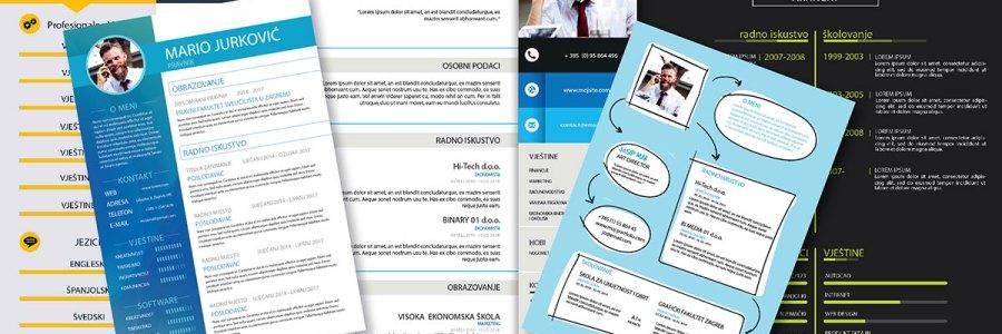 Poslovni životopis – curriculum vitae (CV)