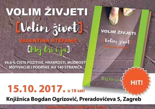 Volim život - volim živjeti (Moj ori i ja) knjiga Valentine Štefanić