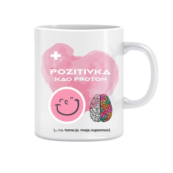 Supermoć Protonka - dizajnerska šalica (iz serije Afirmacije i motivacije)