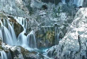 Plitvička jezera zimi